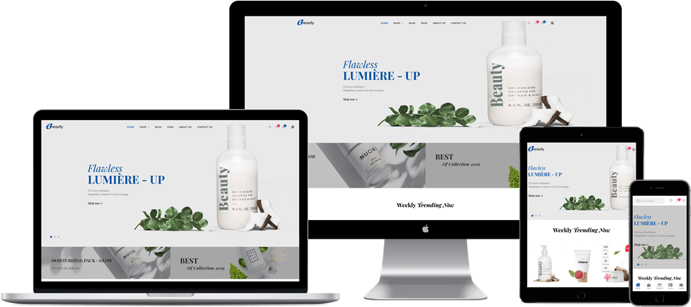 Beauty Free Woocommerce Beauty Cosmetics Theme
