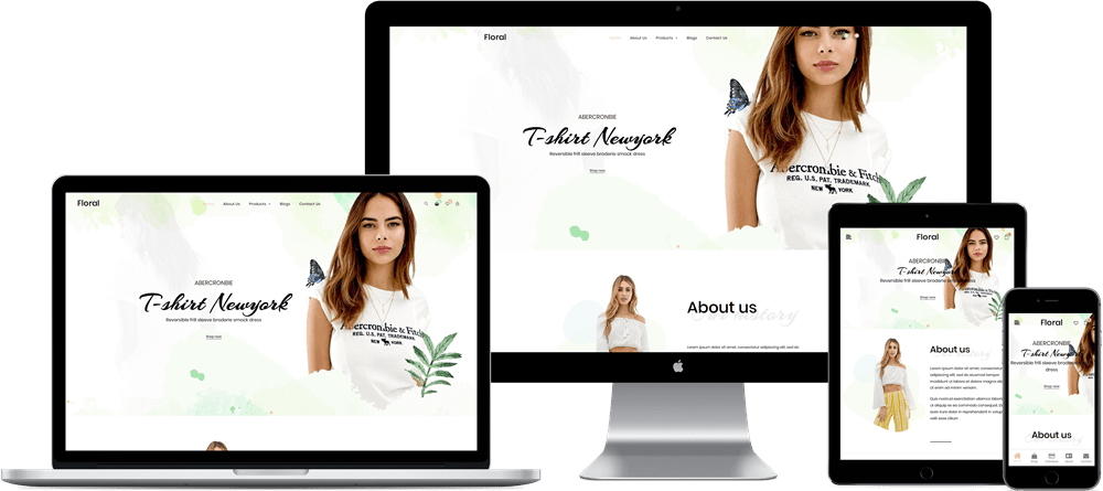 Floral WooCommerce Theme