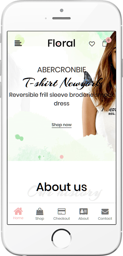 Floral WooCommerce Theme - Responsive