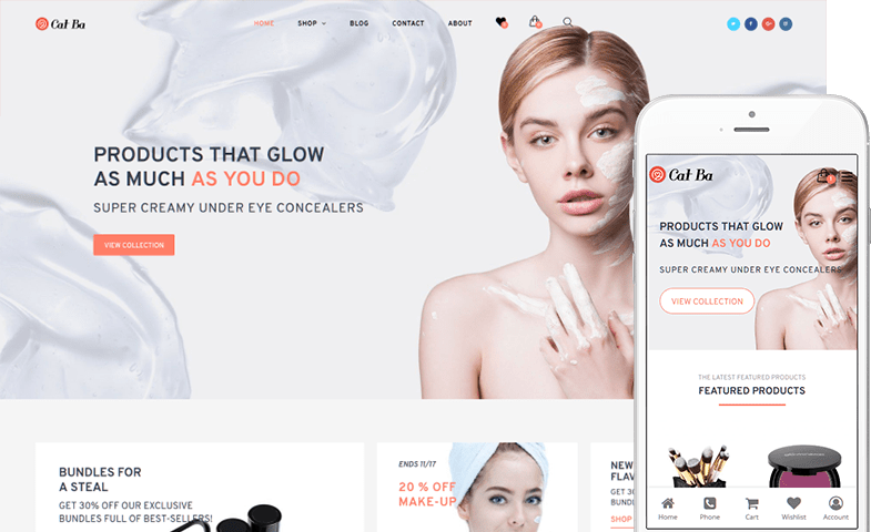 Cat Ba WooCommerce Theme