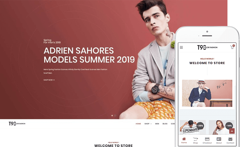 T90 Fashion WooCommerce Theme