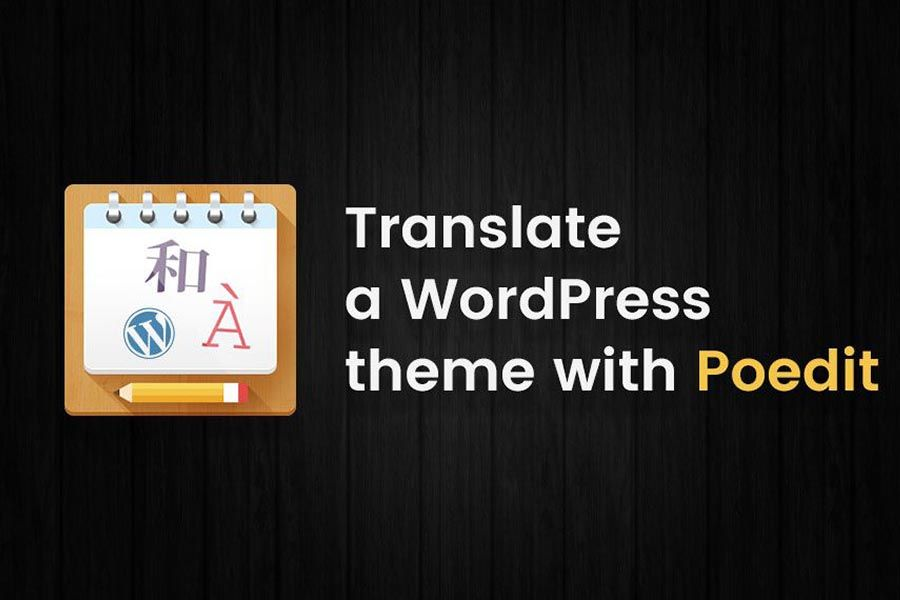 Translating themes and plugins using Poedit