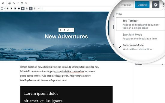 What is New in WordPress 5.0