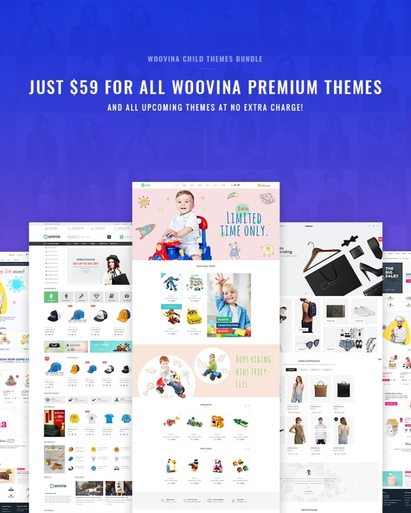 WooVina Child Themes Bundle