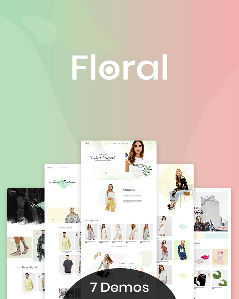 Floral - Free WooCommerce WP Theme for Flower Shop