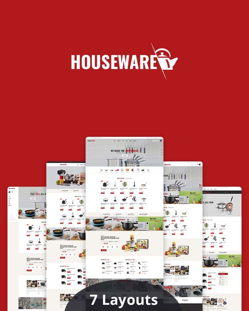 Houseware - Responsive WooCommerce WP Theme