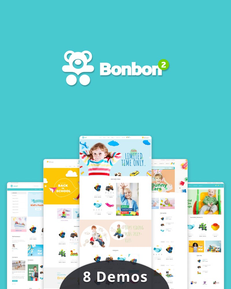 Donnie - Baby & Kids Store WooCommerce Theme