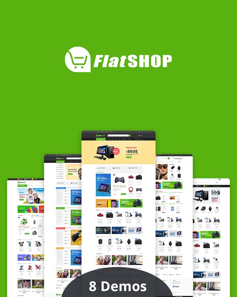 FlatSHOP - Multipurpose WooCommerce WordPress Theme