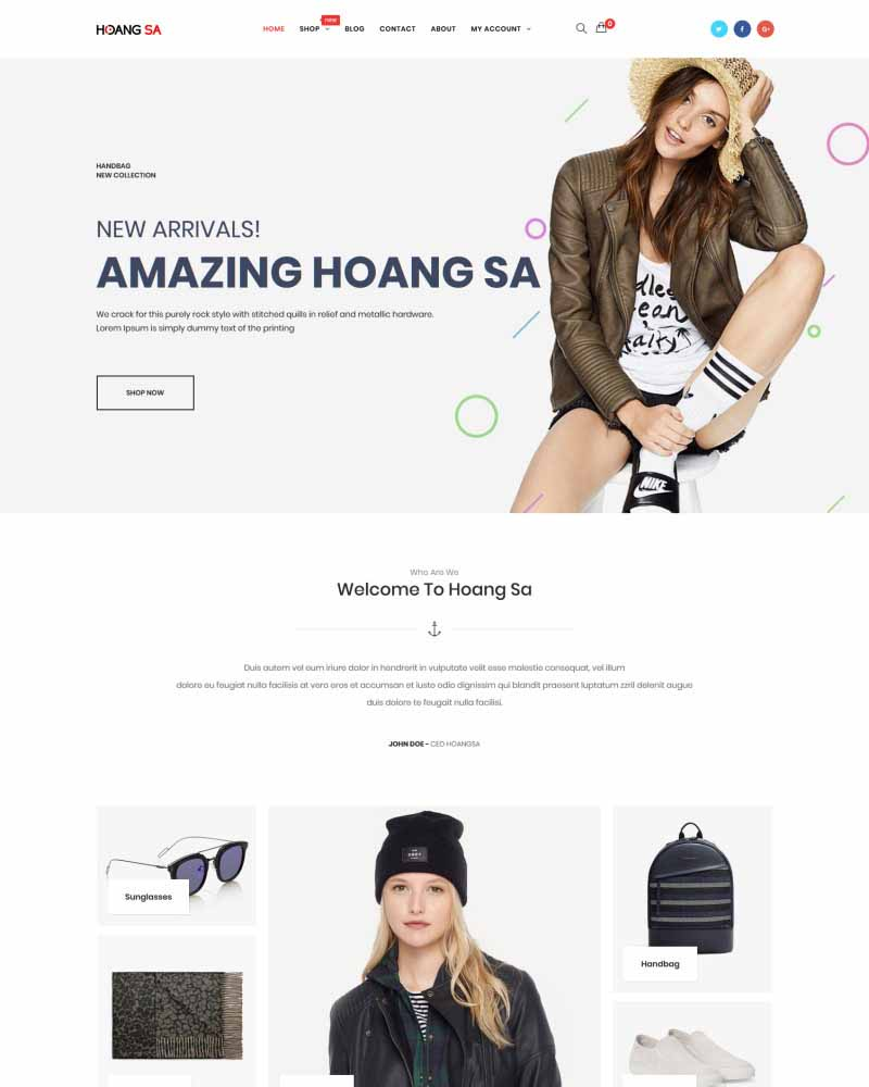 Hoang Sa – Modern and Fashionable Demo